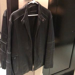 Kenneth Cole New York leather jacket- MEN'S